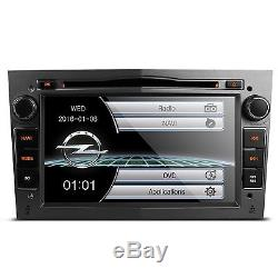 Xtrons 7 Vauxhall Opel Astra Corsa Zafira Meriva Gps DVD Player Car Radio Grey